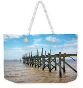 Pretty Birds All In A Row Weekender Tote Bag