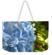 Pretty Blue Flower Weekender Tote Bag