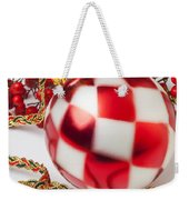 Pretty Christmas Ornament Weekender Tote Bag