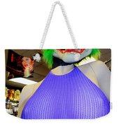 Pretty Face Weekender Tote Bag