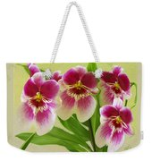 Pretty Faces - Orchid Weekender Tote Bag