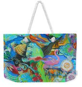 Pretty Flamingo Weekender Tote Bag
