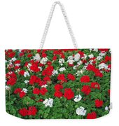 Pretty Flowers Weekender Tote Bag
