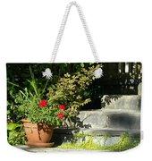 Pretty Gardens Weekender Tote Bag