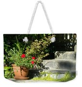 Pretty Gardens Weekender Tote Bag