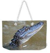 Pretty Gator Weekender Tote Bag