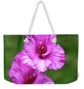 Pretty Gladiolus Weekender Tote Bag
