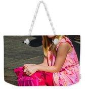 Pretty Jazz Fan Weekender Tote Bag