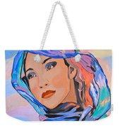 Pretty Lady Weekender Tote Bag