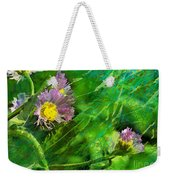 Pretty Little Weeds Photoart Weekender Tote Bag