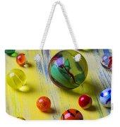 Pretty Marbles Weekender Tote Bag