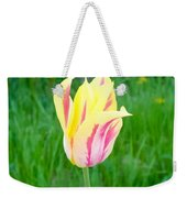 Pretty Pastel Tulip Weekender Tote Bag
