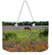 Pretty Pastures Weekender Tote Bag