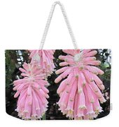 Pretty Pink Forest Lily Weekender Tote Bag