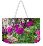 Pretty Pink Petals Weekender Tote Bag