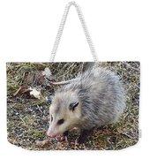 Pretty Possum Weekender Tote Bag