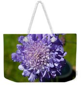 Pretty Purple Flower Weekender Tote Bag