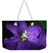 Pretty Purple Petals Weekender Tote Bag