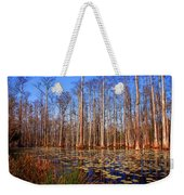 Pretty Swamp Scene Weekender Tote Bag by Susanne Van Hulst