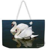 Pretty Swan Pair Weekender Tote Bag