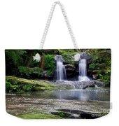 Pretty Waterfalls In Rainforest Weekender Tote Bag