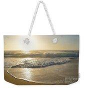 Pretty Waves At Glowing Sunrise By Kaye Menner Weekender Tote Bag