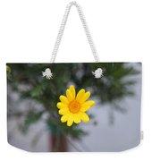 Pretty Yellow Flower Weekender Tote Bag