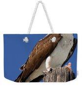 Prey For The Osprey Weekender Tote Bag