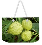 Prickly Balloon Plant Weekender Tote Bag