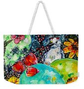 Prickly Pear Cactus Study II Weekender Tote Bag