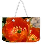 Prickly Pear In Bloom Weekender Tote Bag