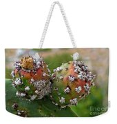Prickly Pear With Cochineal Bugs Weekender Tote Bag
