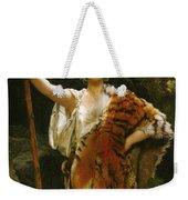 Priestess Bacchus Weekender Tote Bag by John Collier