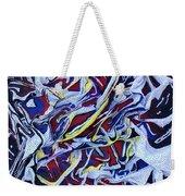Primary Abstract Weekender Tote Bag