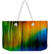 Primary Rainbow Weekender Tote Bag