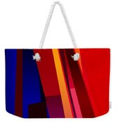 Primary Skyscrappers Weekender Tote Bag