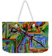 Primary Study I The Map Weekender Tote Bag