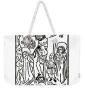 Primitive Crucifixation Weekender Tote Bag