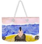 Primitive Woman Crouching Weekender Tote Bag