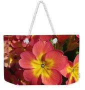 Primrose Flowers Weekender Tote Bag