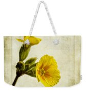 Primula Pacific Giant Yellow Weekender Tote Bag