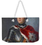 Prince Augustus William Oil On Canvas Weekender Tote Bag