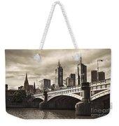 Princess Bridge Weekender Tote Bag