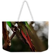 Princess Parrot On A Tree. Weekender Tote Bag