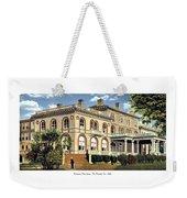 Princeton New Jersey - The Princeton Inn - 1925 Weekender Tote Bag