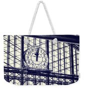 Principe Pio Clock Weekender Tote Bag by Joan Carroll