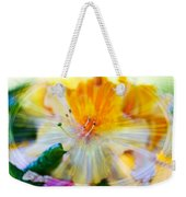 Prisms Of Nature - Meditation - Rhododendron  Weekender Tote Bag