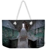 Prison Cell At Eastern State Penitentiary Weekender Tote Bag