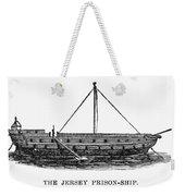 Prison Ship: Jersey Weekender Tote Bag by Granger