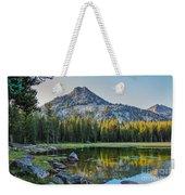 Pristine Alpine Lake Weekender Tote Bag
